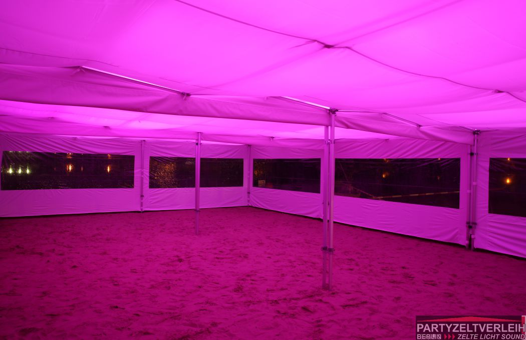 Partyzelt Beleuchtung | Himmel Indirekte Led Beleuchtung Inkl Lieferung Und Installation