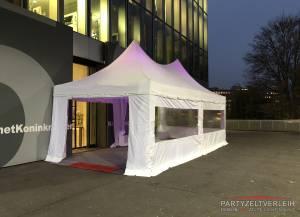 Profi-Pagodenzelt 4m x 8m Winter