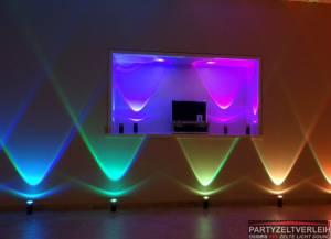 Stimmungsvolle Lichteffekte akkubetrieben