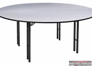 Banketttisch Rund ø 180cm Soft-Top bei Lieferung bis zum Grundstück / Aufbau gegen Aufpreis