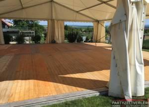 Event-/ Hochzeit-/Party-/ Tanzboden Holz  inkl. Lieferung und Verlegung                                                            inkl. Verlegung
