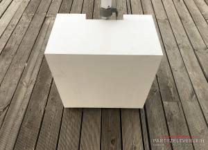 1x Gewichte-Kiste zu je 80Kg Weiß