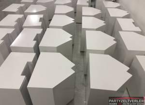 80kg Gewichte-Kisten Weiß