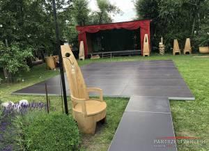Tanzboden, Bühnenboden und Podeste - Preis/qm inkl. Verlegung