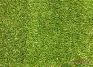 Hochwertiger Kunstrasen Grün