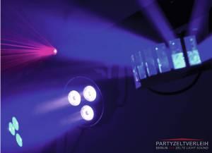 LED-Laser Bar auf Stativ mit Fernbedienung für die Tanzfläche