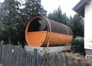 Mobile Panorama-Sauna für Ihr Event