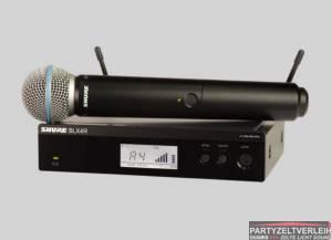 Shure Funkmikrofon BLX24R/Beta 58A