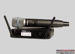 Shure Funkmikrofon GLXD24E/Beta87A