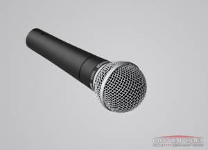 Shure Bühnenmikrofon mit 3m XLR Kabel