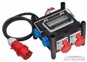 Stromverteiler 400V-32A 400V-16A +Schuko