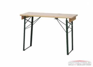 Tisch aus Bierzeltgarnitur 110cm x 70cm